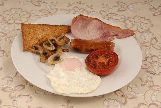 Beech Hill House: Small English breakfast