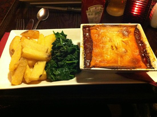 King's Arms: Steak and Guiness Pie