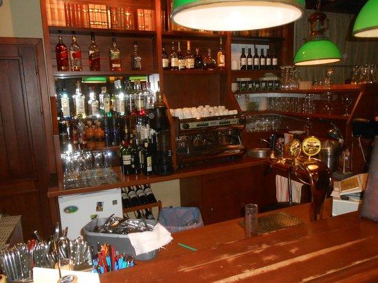 Piejura: Bar area
