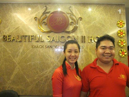 Beautiful Saigon Hotel 2: フロント