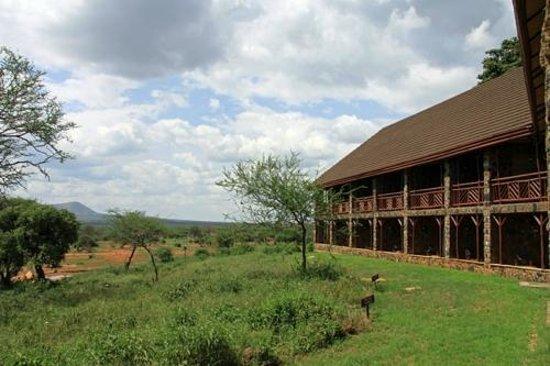 Kilaguni Serena Safari Lodge : Lodge