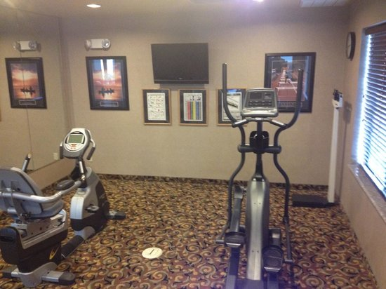 Holiday Inn Express Hotel & Suites: Recumbent and Elliptical
