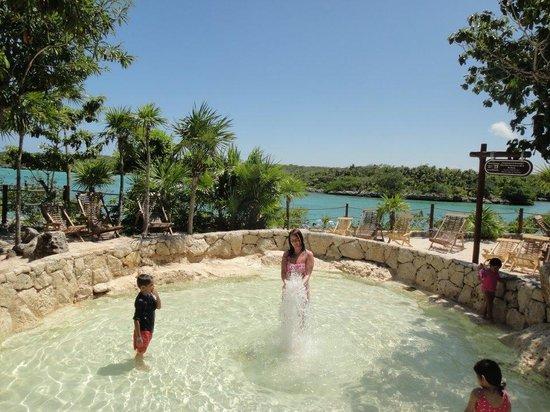 Parc Xel-Ha : kids pool