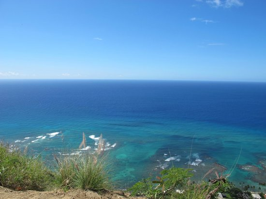 ocean view from diamond head