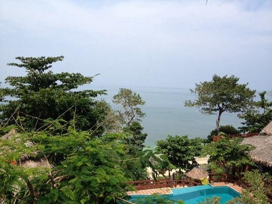 Koh Jum Resort : view from room 602