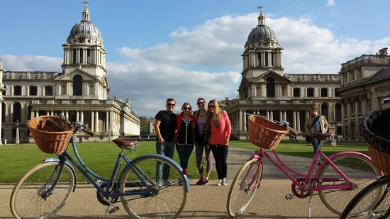 Greenwich with Tally Ho! Cycle Tours
