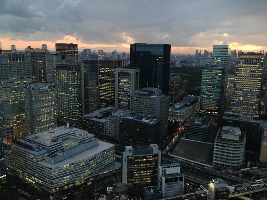 Mandarin Oriental, Tokyo: The view on an afternoon