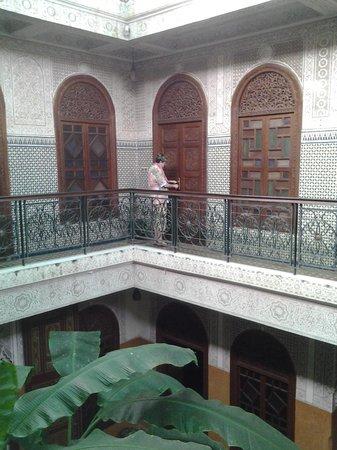 Riad Jardin Secret: Accès aux chambres