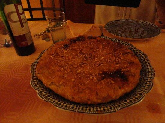 Riad Jardin Secret: Pastilla au poulet