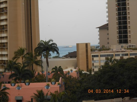 Holiday Inn Resort Waikiki Beachcomber: View from Lanai
