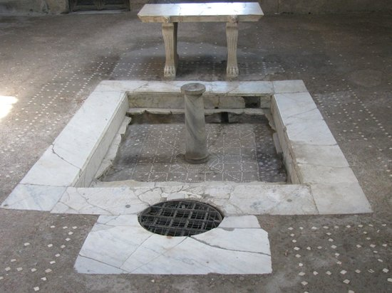 Ruins of Herculaneum: Herculaneum Home Foyer