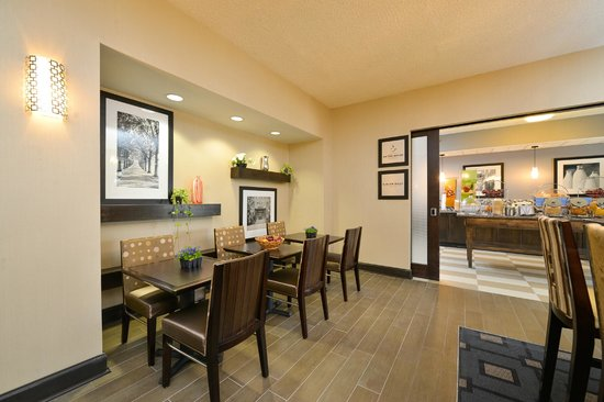 Hampton Inn Olean : Lobby/Seating Area