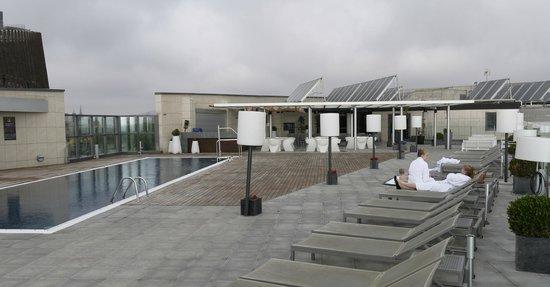 Pullman Barcelona Skipper : Бассейн на крыше отеля