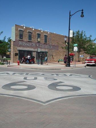 "La Posada Hotel: ""Standing on the corner in Winslow, Arizona...."""