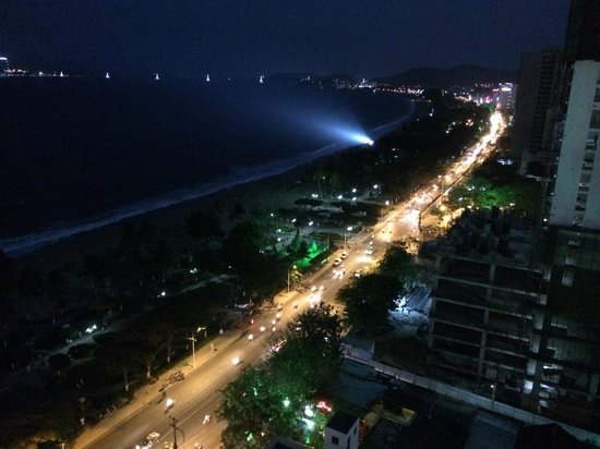 Night view from balcony picture of novotel nha trang for Balcony night view