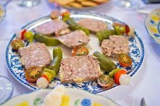 Restaurante El Tigre: Pâté de la casa