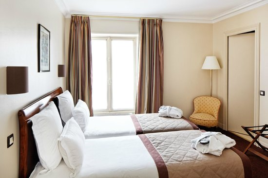 Suites Albany and Spa : a bedroom in the 2 bedrooms appartment n°461