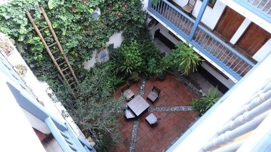 Hostal Dona Esther: le patio