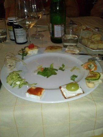 Hotel Villa Itala: Un buon antipasto