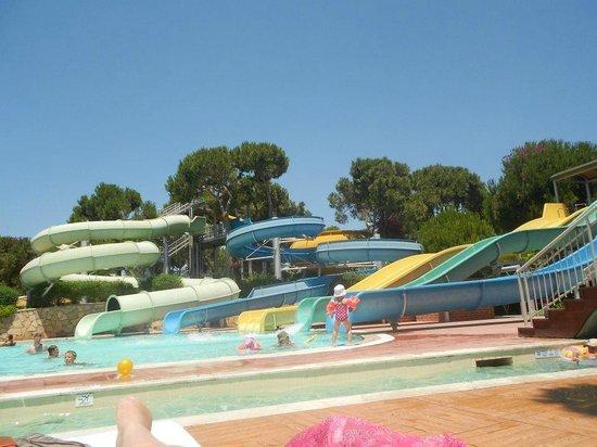 Maritim Pine Beach Resort: Brilliant water slides