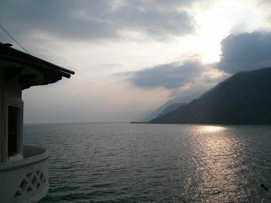 Tzanjuyu Bay Hotel : Vista desde los balcones