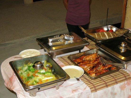 Chindonan Dive Resort: Dinner