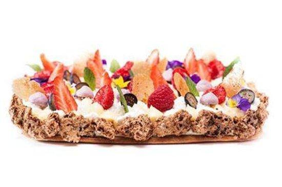 Le Vanteaux: tarte aux fruits de saison