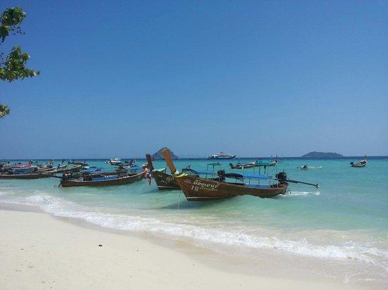 Phi Phi Natural Resort : Mare vicino al resort