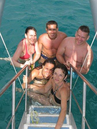 Catchasam Catamaran Charter : Spass beim Schwimmen