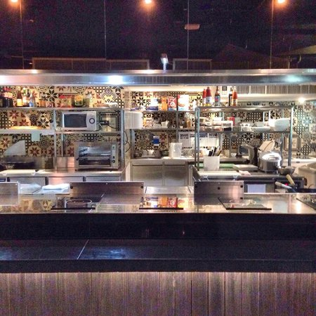 U Sukhumvit Bangkok: Open kitchen