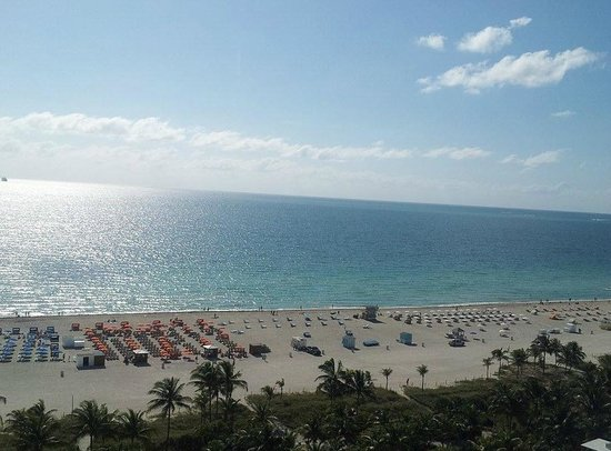 Loews Miami Beach Hotel: View from my room balcony