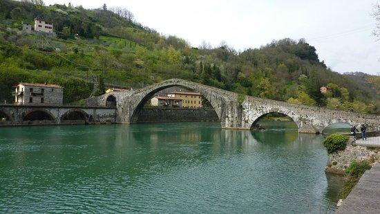 Antica Locanda di Sesto : The Maddalena Bridge near by