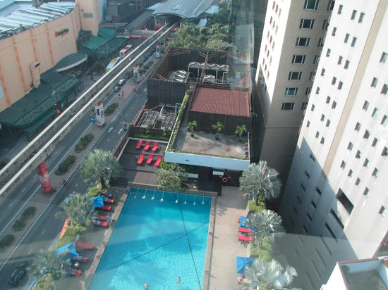 PARKROYAL Kuala Lumpur : Vue depuis la chambre