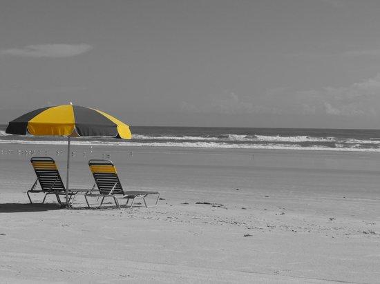 Beach at Daytona Beach: magnifique plage