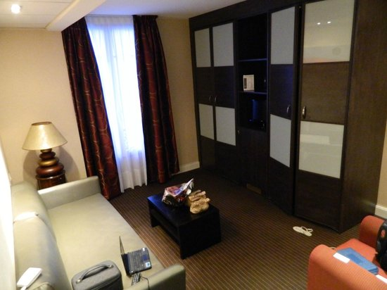 Hotel Gounod Nice: Sala