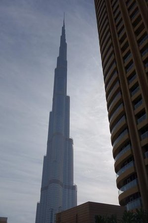 Address Dubai Mall: view from pool