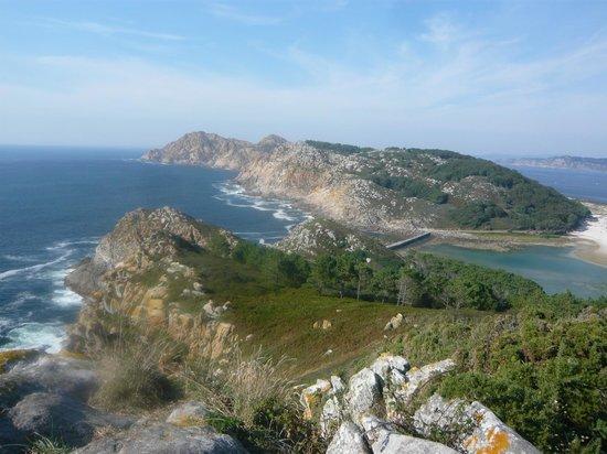 Barco Islas Cíes - Cruceros Rias Baixas: VIENDO HACIA EL NORTE
