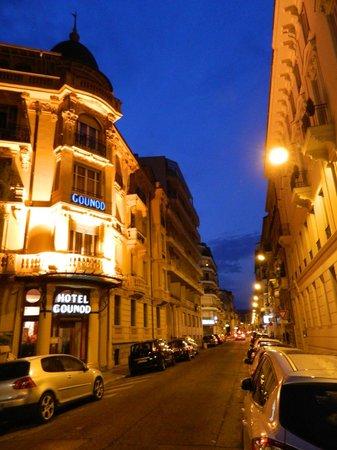 Hotel Gounod Nice: Fachada do hotel