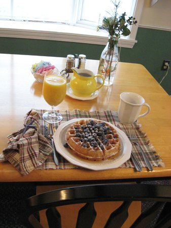 Just one the freshly prepared breakfasts at Pleasant View B&B!