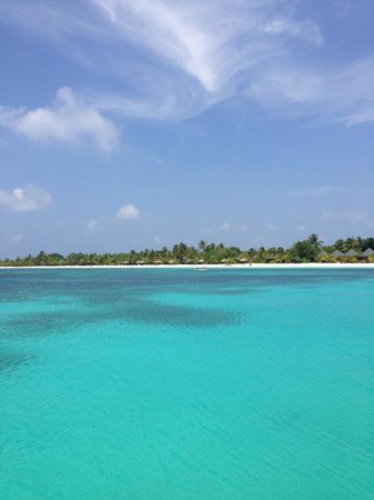 Kuredu Island Resort & Spa : First look of Island