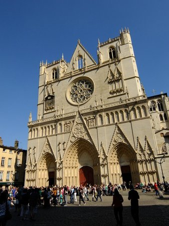 Vieux Lyon : cathédrale saint jean