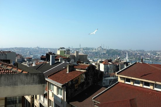 Adahan Istanbul: View from the rooftop terrace