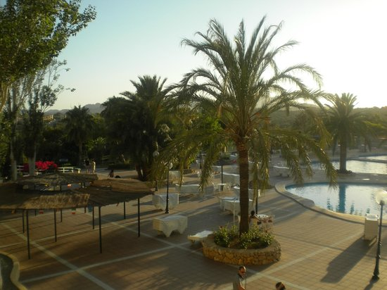 Club Cala Romani : View from main building