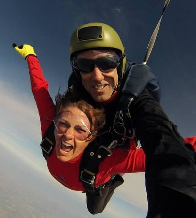Skydive OC: You honestly feel like you're flying!!!