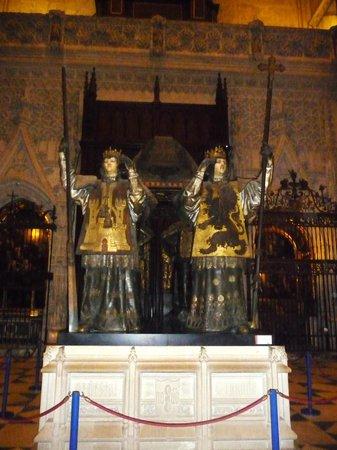 Catedral de Sevilla: Tombeau C. Colomb