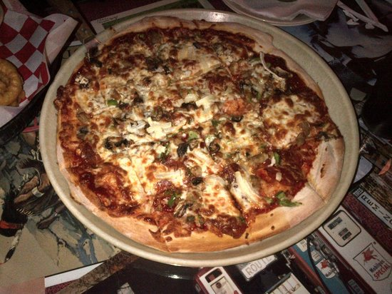 Rosedale, IN: great pizza!
