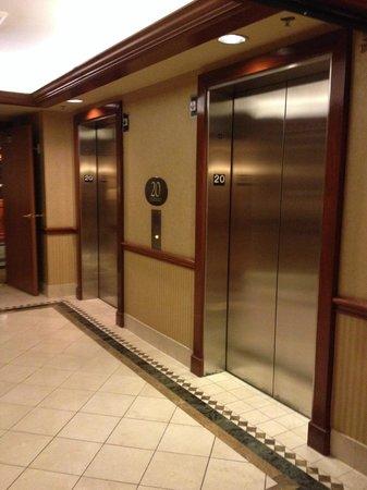 Rio All-Suite Hotel & Casino: elevator