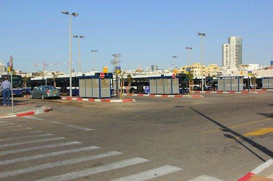 InterContinental David Tel Aviv: Bus station steps away from hotel
