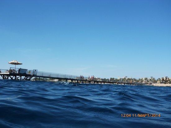 Port Ghalib Resort: мостик