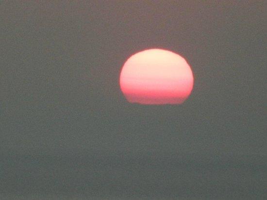 Santorini Volcano: Por do Sol